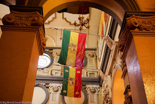 Ethiopia, Addis Ababa, Inside Trinity Cathedral