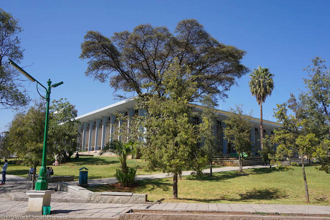Ethiopia, Addis Ababa, University