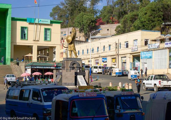 Ethiopia, Gondar, Central Sqaure