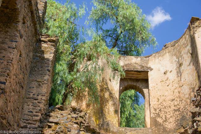 Ethiopia, Gonder, Ruins