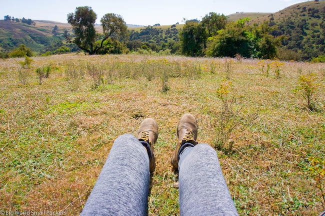 Ethiopia, Simien Mountains, Hiking Legs