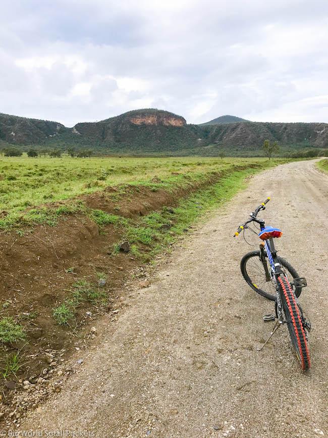 Kenya, Hells Gate NP, Bike