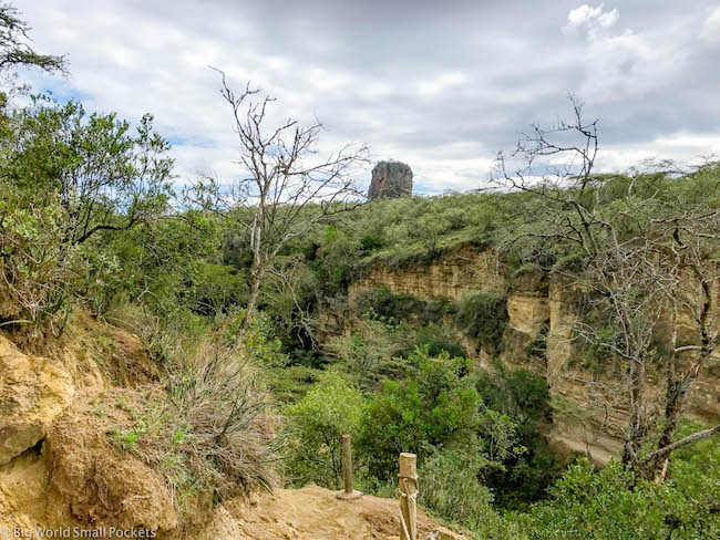 Kenya, Hells Gate NP, Landscape