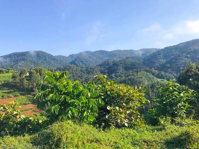 Rwanda, Landscape, Green Hills