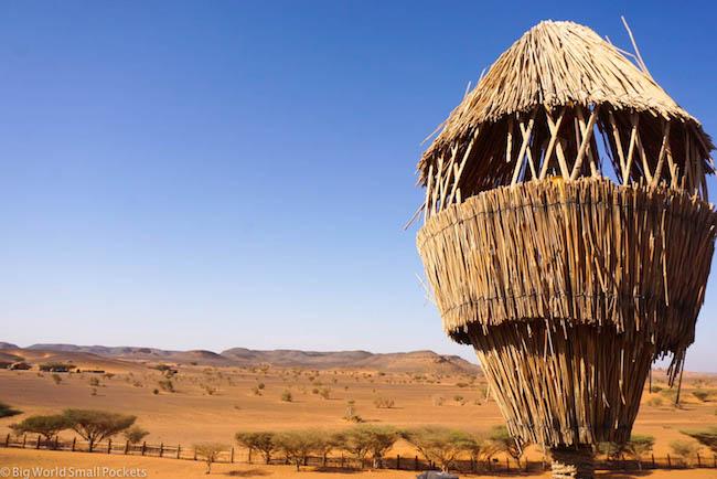 Sudan, ITC Meroe Camp, Lamp