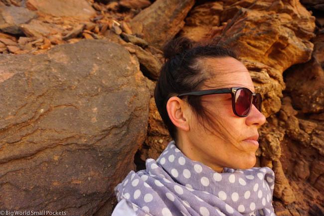 Sudan, Karima, Me in Desert