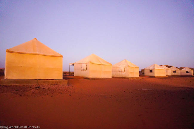 Sudan, Meroe Camp, Tents