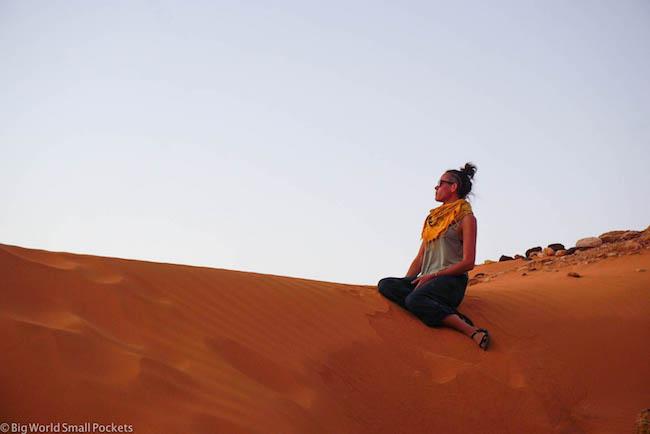 Sudan, Meroe, Me on Dune