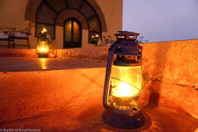 Sudan, Nubian Rest House, Night Lamps