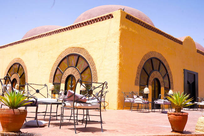 Sudan, Nubian Rest House, Patio