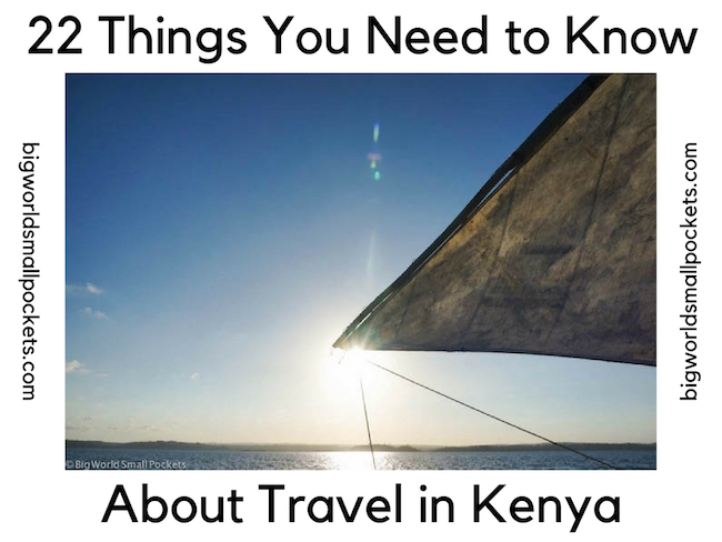 22 Things You Need to Know About Travel in Kenya