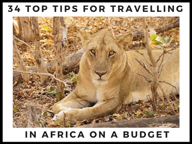 34 Top TIps for Budget Travel in Africa