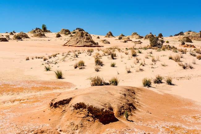 Australia, Mungo National Park, Desert