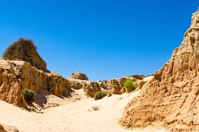 Australia, Mungo National Park, Landscape