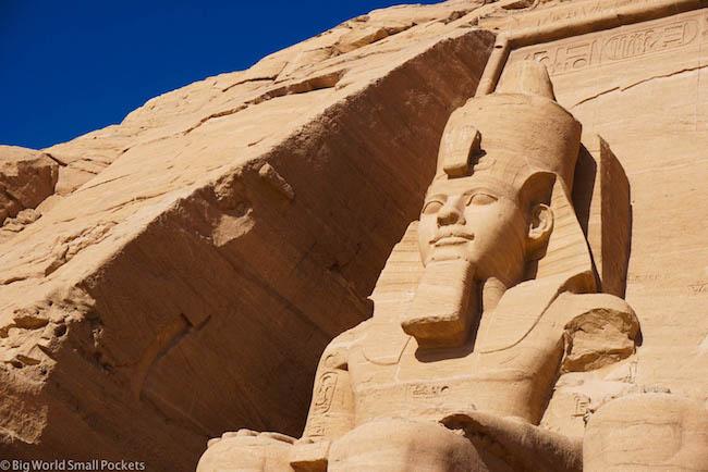 Egypt, Abu Simbel, Statues