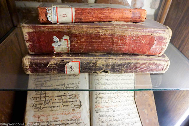 Egypt, Cairo, Coptic Bibles