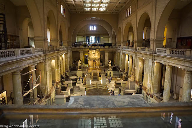 Egypt, Cairo, Egyptian Museum Building