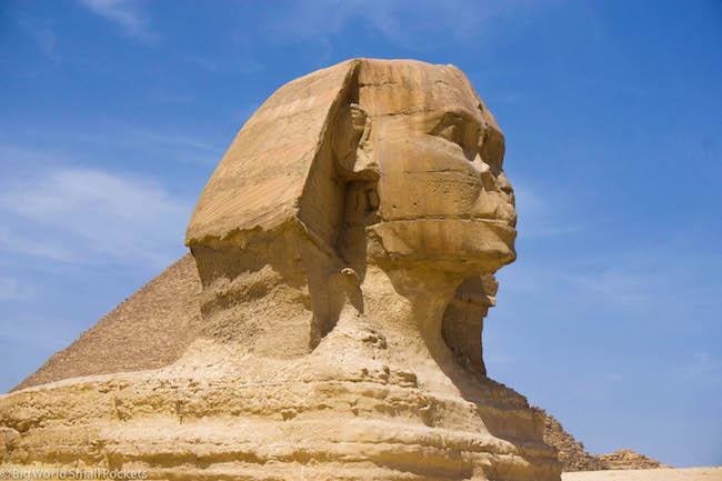 Egypt, Cairo, Sphinx