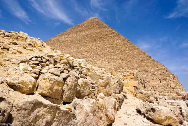 Egypt, Giza, Pyramid