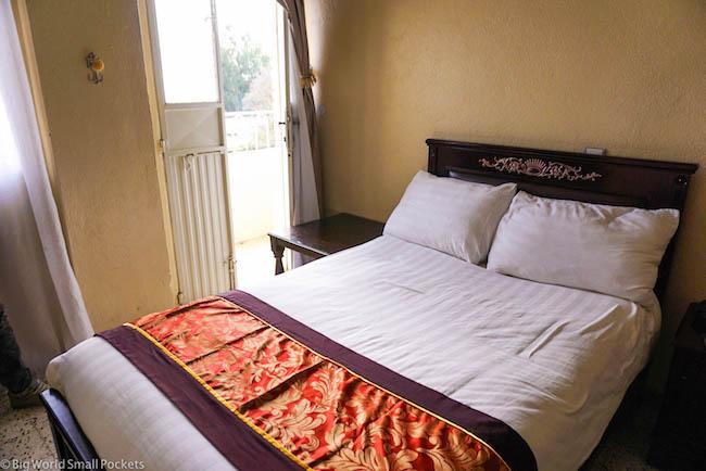 Ethiopia, Axum, Ethiopis Hotel Bedroom