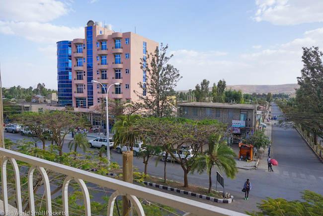 Ethiopia, Axum, Ethiopis Hotel