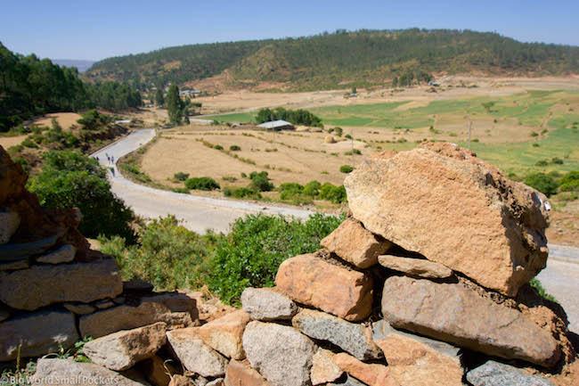 Ethiopia, Axum, Wall