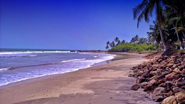 Ghana, Kokrobite, Beach