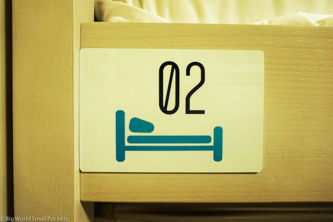 Jerusalem, Stay Inn, Dorm Sign