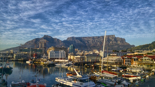 South Africa, Cape Town, Harbour
