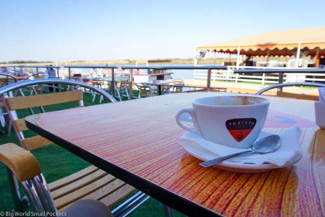 Sudan, Khartoum, Coffee on the Nile