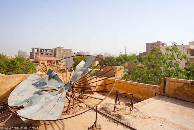 Sudan, Khartoum, Rooftop Terrace