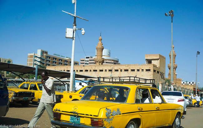 Sudan, Khartoum, Taxi
