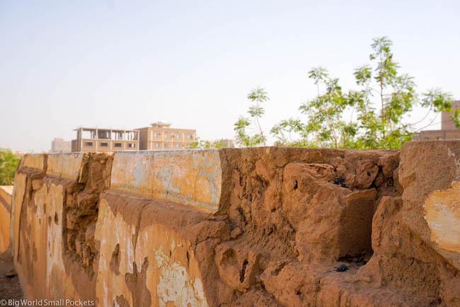 Sudan, Khartoum, Wall