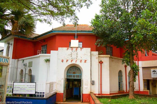 Uganda, Jinja, Post Office