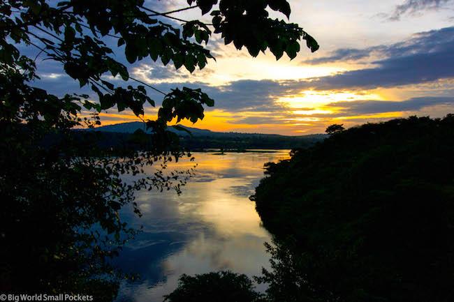 Uganda, Jinja, Sunset