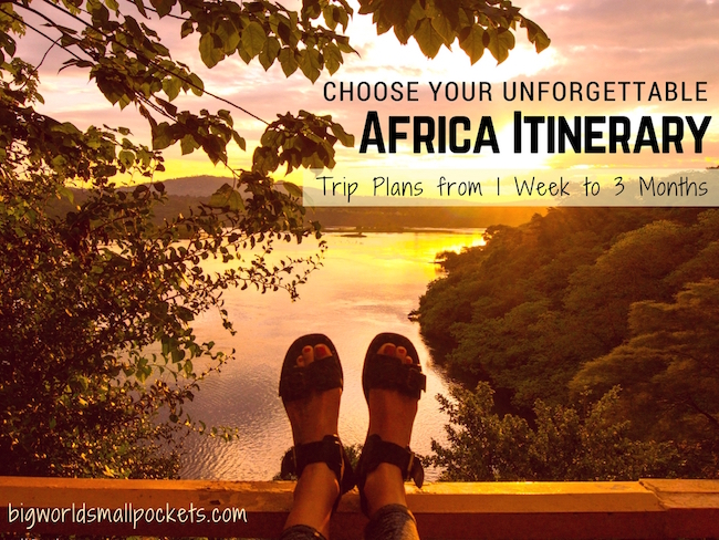 Choose Your Unforgettable Africa Itinerary