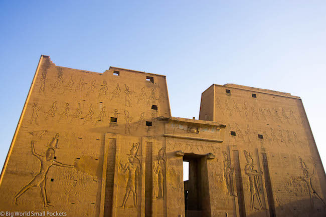 Egypt, Edfu Temple, Pylon