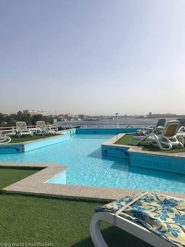 Egypt, Nile Cruise, Pool