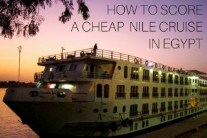 How to Score a Cheap Egypt Nile Cruise