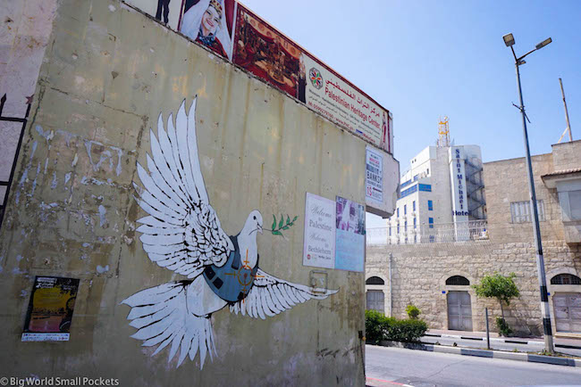 Israel, Bethlehem, Banksy