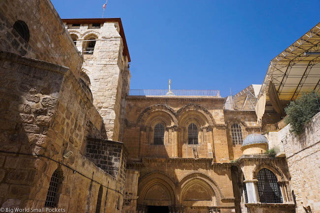 Israel, Jerusalem, Church of Holy Sepulchre Outside
