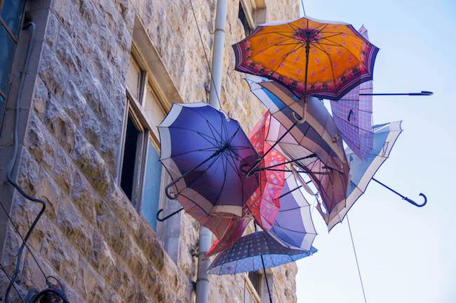 Jordan, Amman, Umbrella Street