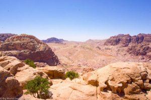 Jordan, Petra, Desert Landscape