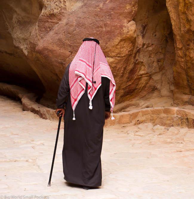 Jordan, Petra, Old Man