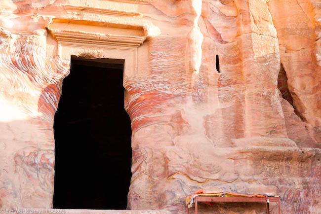 Jordan, Petra, Tomb Door
