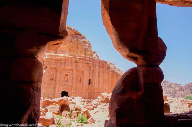 Jordan, Petra, Tomb View