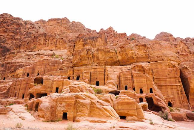 Jordan, Petra, Tombs