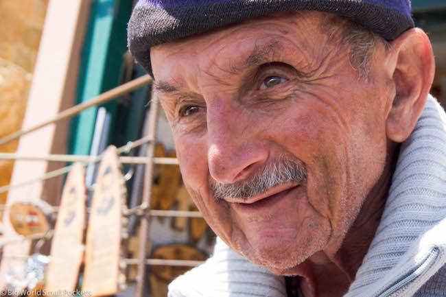 Lebanon, Bcharre, Older Man