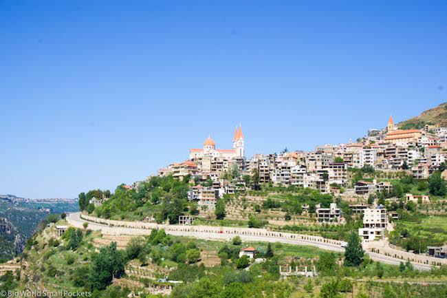 Lebanon, Bsharre, Church