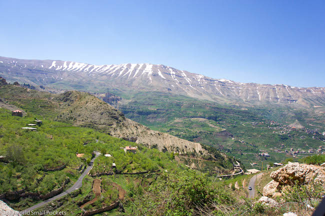 Lebanon, Cedars, Snow